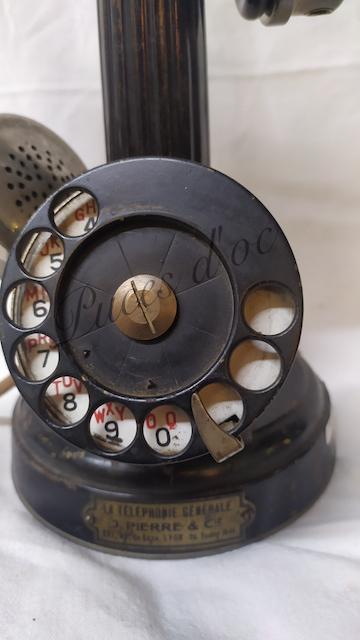 telephone ancien j.Pierre