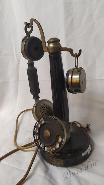 telephone ancien colonne