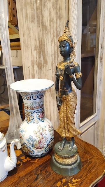 statue bronze thaï