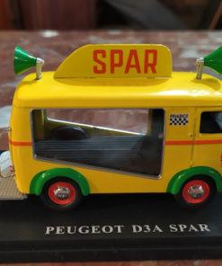 fourgon spar miniature