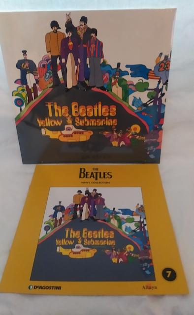 vinyle beatles yellow submarine