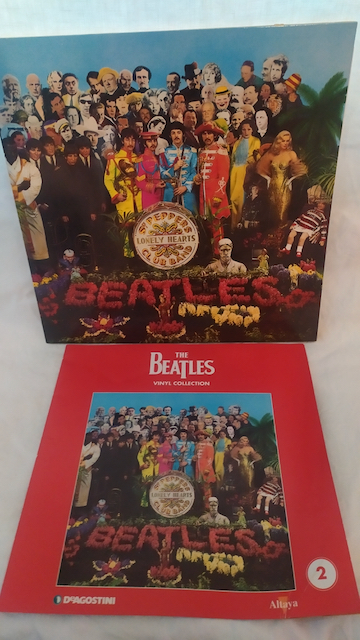 disque vinyle beatles sergent peppers