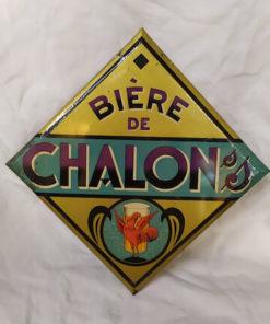 publicité biere de chalon