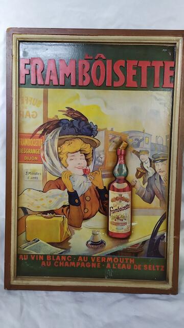 publicité ancienne bistrot