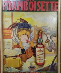 panneau publicitaire la framboisette