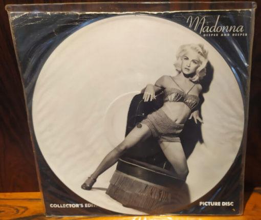 vinyle picture madonna