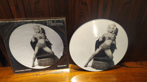 picture disc madonna deeper and deeper