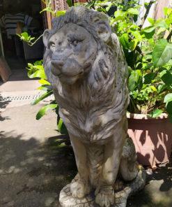 statue lion moulage