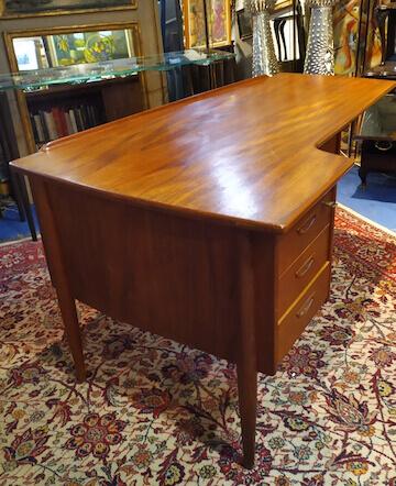 bureau mobilier scandinave vintage