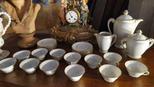 service a cafe porcelaine limoges
