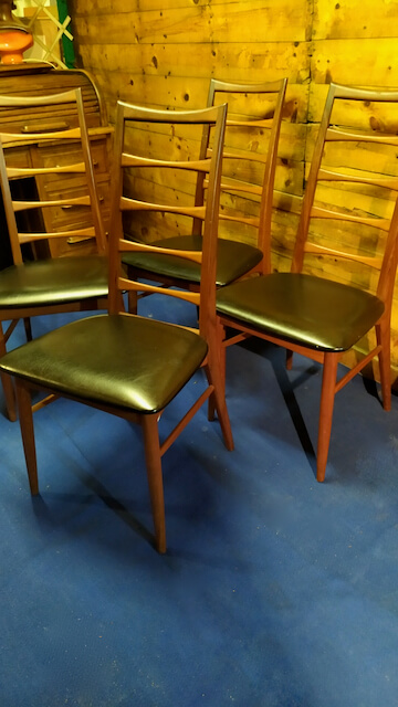 chaises scandinaves vintage