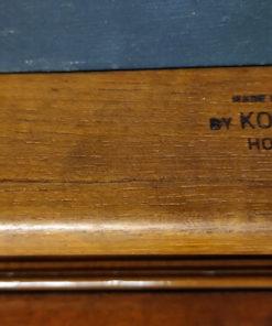 chaise scandinave vintage en palissandre