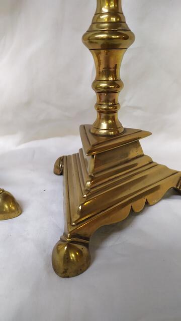 bougeoir en bronze