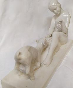l.badessi sujet en porcelaine