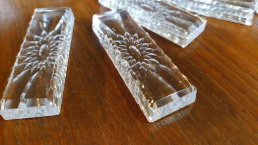 porte couteaux en cristal