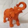 elephant resine orange