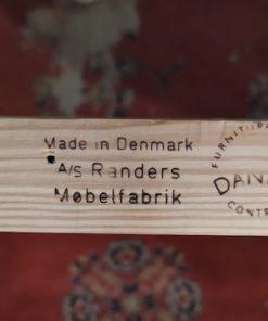 table vintage danois