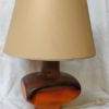 lampe vintage orange