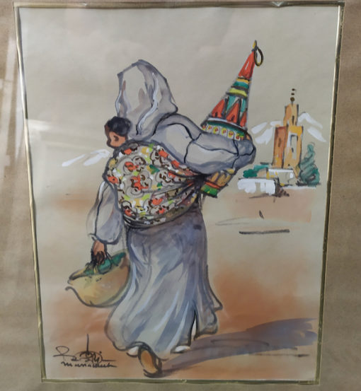 tableau orientaliste