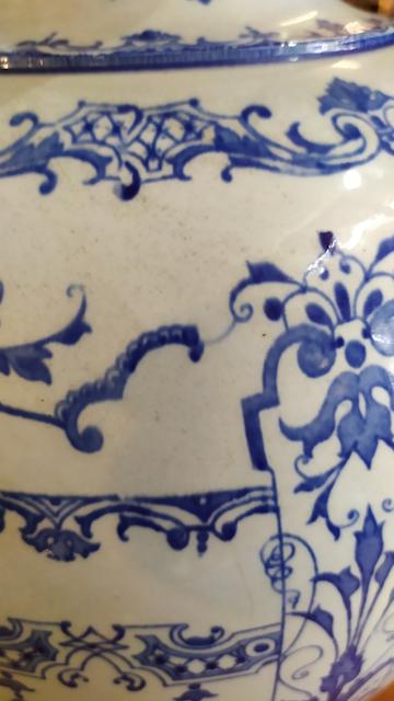 vase ancien faience