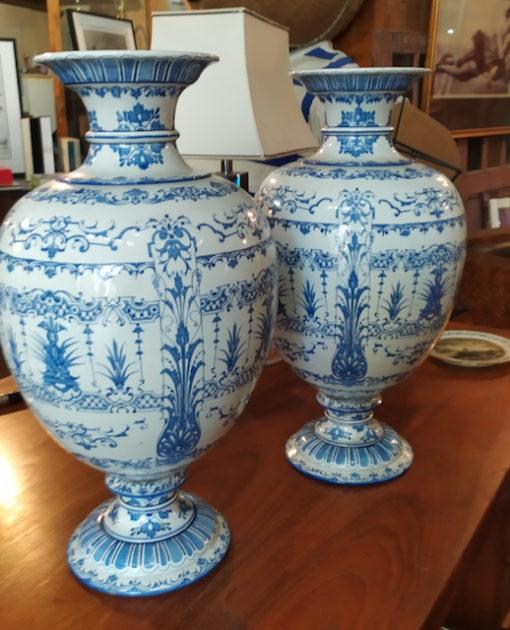 Vases Faience Gien