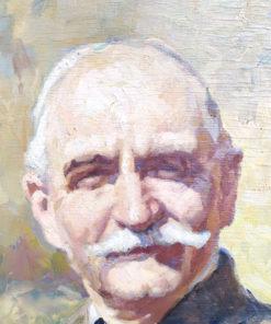 peinture portrait masculin