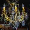 lustre pampilles cristal
