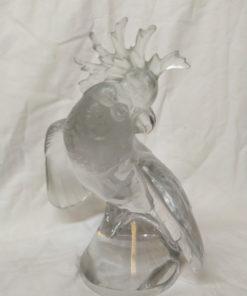 perroquet cristal lalique