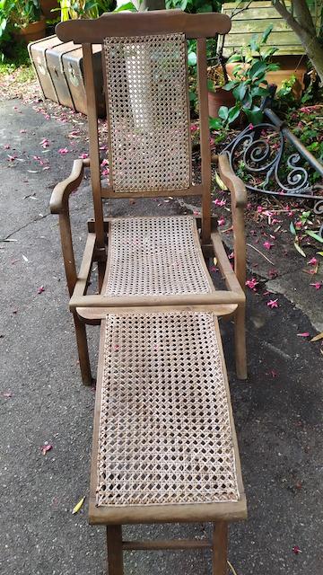 chaise longue paquebot