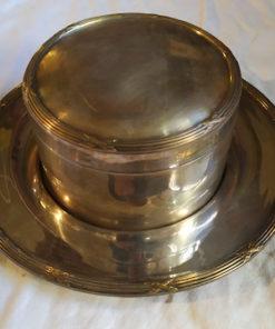 bonbonniere metal argente