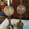 lampes petrole en cuivre