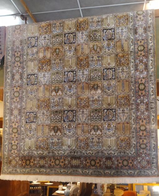 tapis cachemire fait main