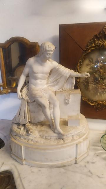 sculpture biscuit XIXe