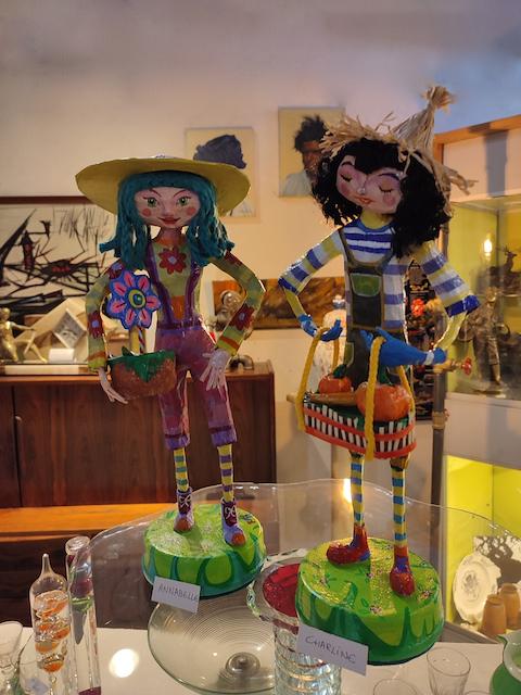 Sculptures Figurines Papier Maché